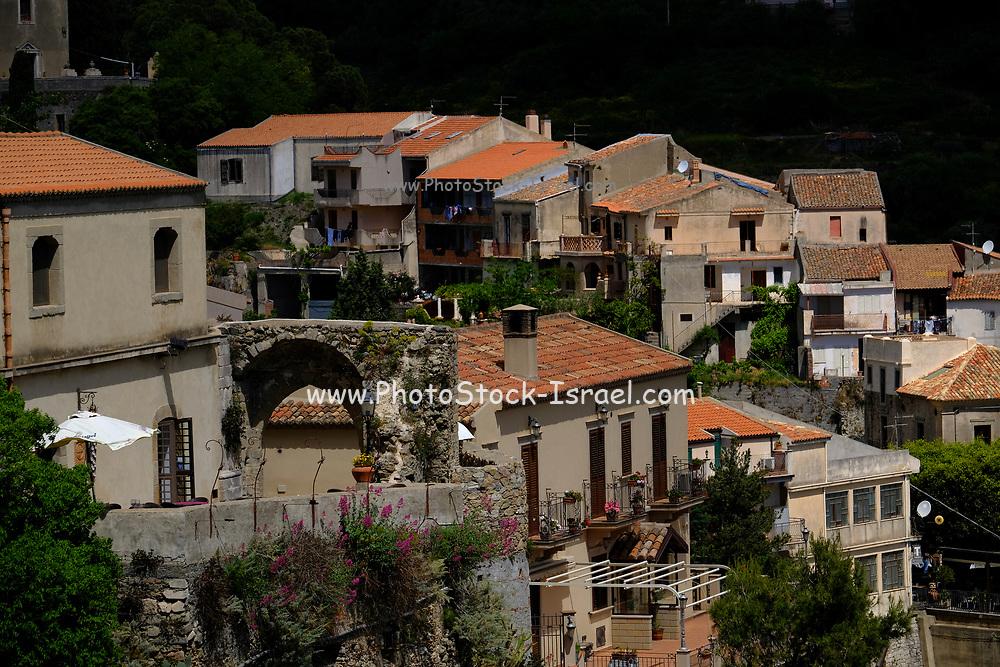 Cityscape of Taormina, Sicily, Italy