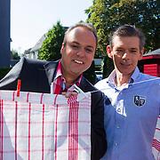 NLD/Hilversum/20130827 - Perspresentatie Vive la Frans, Frans Bauer en broer Doris Bauer