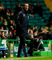 29/10/14 SCOTTISH LEAGUE CUP QUARTER-FINAL<br /> CELTIC V PARTICK THISTLE<br /> CELTIC PARK - GLASGOW<br /> Celtic manager Ronny Deila on the touchline.