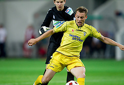 Matej Radan of Maribor and Damir Pekic of Domzale during football match between NK Domzale and NK Maribor in final match of Hervis Cup, on May 25, 2011 in SRC Stozice, Ljubljana, Slovenia. Domzale defeated Maribor and became Slovenian Cup Champion 2011. (Photo By Vid Ponikvar / Sportida.com)