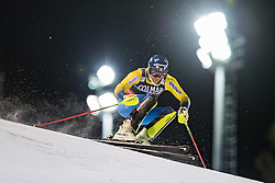 22.12.2016, Canalone Miramonti Rennstrecke, Madonna di Campiglio, ITA, FIS Ski Weltcup, Madonna di Campiglio, Slalom, Herren, 1. Lauf, im Bild Andre Myhrer (SWE) // Andre Myhrer of Sweden in action during 1st run of men's Slalom of FIS ski alpine world cup at the Canalone Miramonti race course in Madonna di Campiglio, Italy on 2016/12/22. EXPA Pictures © 2016, PhotoCredit: EXPA/ Johann Groder