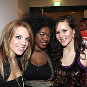 NLD/Naarden/20080401 - Het Arsenaal van jan des Bouvrie bestaat 15 jaar, finalisten Idols 2008, Nikki Kerkhof, Nathalie Makoma en Charlene