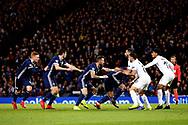Scotland's corner kick tactics during the UEFA Nations League match between Scotland and Israel at Hampden Park, Glasgow, United Kingdom on 20 November 2018.