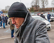 Steve Coppell former Crystal Palace manager arriving at the fourth round FA Cup match at The Den between Millwall vs Watford , London<br /> Picture by Richard Brooks/Focus Images Ltd 07947656233<br /> 29/01/2017