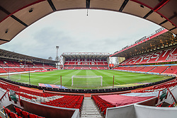 January 19, 2019 - Nottingham, England, United Kingdom - NOTTINGHAM, UK. 19TH JANUARY General view of the City Ground, home to Nottingham Forest during the Sky Bet Championship match between Nottingham Forest and Bristol City at the City Ground, Nottingham on Saturday 19th January 2019. (Credit Image: © Mark Fletcher/NurPhoto via ZUMA Press)
