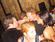 David Keith & Mick Hucknall.Man Ray Restaurant Opening Party.Man Ray Restaurant.New York,  NY .July 11, 2001.Photo by Celebrityvibe.com..