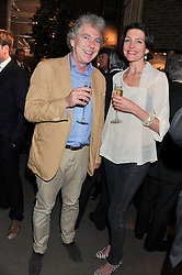 MATTHEW HORTON and THOMASINA MIERS at the launch party for Spectator Life hosted by Andrew Neil at Asprey, 167 New Bond Street, London on 28th March 2012.