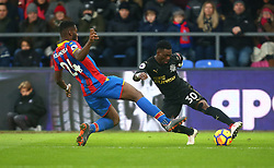 February 4, 2018 - London, England, United Kingdom - Newcastle United's Christian Atsu..during Premier League match between Crystal Palace and Newcastle United at Selhurst Park Stadium, London,  England on 04 Feb 2018. (Credit Image: © Kieran Galvin/NurPhoto via ZUMA Press)