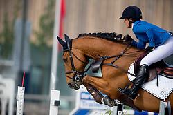 Buhofer Simone, (SUI), Riosco<br /> Class 21<br /> International Competition CSIO Young Riders Opglabbeek 2016<br /> © Dirk Caremans