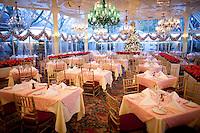 The Chrystal Room of Tavern On The Green..(Photo by Robert Caplin)..