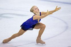 Alsu KAIUMOVA of Russia at ISU Junior Grand Prix of Figure Skating Ljubljana Cup 2014 on August 29, 2014 in Hala Tivoli, Ljubljana, Slovenia. Photo by Matic Klansek Velej / Sportida