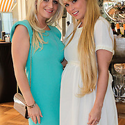 NLD/Amsterdam/20120601 - Opening webshop Sael Shop, zwangere Sanne Hoogkramer en Daisy Vorm