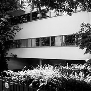 Paris, France, 1981: Cook house (1926) at 6 rue Denfert-Rocherau- Le Corbusier arch - Signed and editioned prints available at 50x40cm. Get and touch, for commercial uses or other sizes. by Photographs by Alejandro Sala, (Historical archive AS)