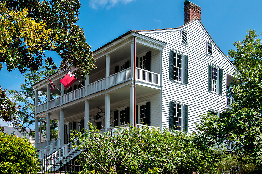 The Burgwin-Wright House and Gardens in Wilmington, North Carolina on Wednesday, August 11, 2021. Copyright 2021 Jason Barnette