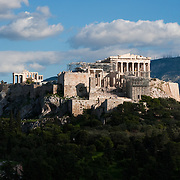 Clouds over Acropolis