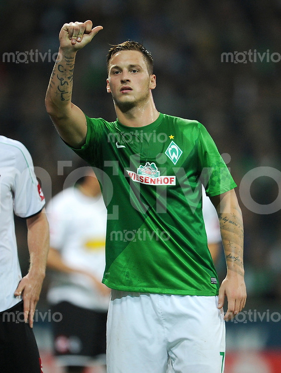 FUSSBALL   1. BUNDESLIGA    SAISON 2012/2013    8. Spieltag   SV Werder Bremen - Borussia Moenchengladbach  20.10.2012 Marko Arnautovic (SV Werder Bremen)