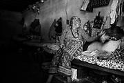 Sethi Dokhal (80) inside her room in the oldage home. Kathmandu, Nepal