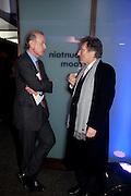 TIM CLARK; LORD HOLLICK, LA Philharmonic reception, Fountain room, Barbican. 27 January 2011 -DO NOT ARCHIVE-© Copyright Photograph by Dafydd Jones. 248 Clapham Rd. London SW9 0PZ. Tel 0207 820 0771. www.dafjones.com.
