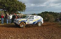 Motor<br /> Paris Dakar 2004<br /> Foto: Digitalsport<br /> Norway Only<br /> <br /> NARBONNE - CASTELLON<br />  LUC ALPHAND - HENRI MAGNE / BMW X-RAID