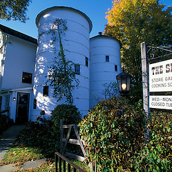 The Silo store and cooking store on the Henderson property in Connecticut's Litchfield Hills.  New Milford, CT
