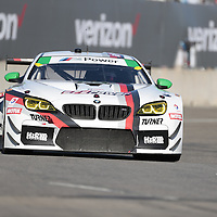 Detroit, MI - Jun 03, 2016:  The Turner Motorsport BMW M6 GT3 races through the turns at the Detroit Grand Prix at Belle Isle Park in Detroit, MI.