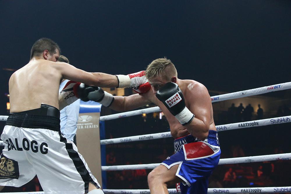Boxen: World Boxing Super Series, Ali-Trophy,  Berlin, 09.09.2017<br /> Sebastian Formella (GER) - Jan Balog (CZE)<br /> © Torsten Helmke