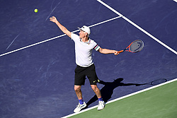 March 16, 2019 - Palm Desert, California, Usa - Tennis : BNP Paribas Open 2019 - John Mc Enroe - Usa (Credit Image: © Panoramic via ZUMA Press)
