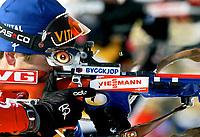◊Copyright:<br />GEPA pictures<br />◊Photographer:<br />Mario Kneisl<br />◊Name:<br />Bjoerndalen<br />◊Rubric:<br />Sport<br />◊Type:<br />Ski nordisch, Biathlon<br />◊Event:<br />IBU Biathlon WM 2005, 10 km Sprint, Herren<br />◊Site:<br />Hochfilzen, Austria<br />◊Date:<br />05/03/05<br />◊Description:<br />Ole Einar Bjoerndalen (NOR)<br />◊Archive:<br />DCSKN-0503054302<br />◊RegDate:<br />05.03.2005<br />◊Note:<br />8 MB - HH/HH - Nutzungshinweis: Es gelten unsere Allgemeinen Geschaeftsbedingungen (AGB) bzw. Sondervereinbarungen in schriftlicher Form. Die AGB finden Sie auf www.GEPA-pictures.com.<br />Use of picture only according to written agreements or to our business terms as shown on our website www.GEPA-pictures.com.