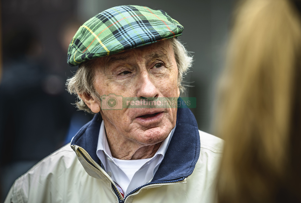 May 13, 2018 - Barcelona, Catalonia, Spain - Former British Formula One World Champion Sir JOHN YOUNG 'JACKIE' STEWART walks through the paddock prior the Spanish GP at Circuit de Barcelona - Catalunya (Credit Image: © Matthias Oesterle via ZUMA Wire)