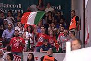 DESCRIZIONE :  Lega A 2014-15  Banco di Sardegna Sassari - EA7 Milano playoff Semifinale gara 3 <br /> GIOCATORE : Tifosi EA7 Milano<br /> CATEGORIA : Low Tifosi<br /> SQUADRA : EA7 Milano<br /> EVENTO : PlayOff Semifinale gara 3<br /> GARA : Banco di Sardegna Sassari - EA7 Milano PlayOff Semifinale Gara 3<br /> DATA : 02/06/2015 <br /> SPORT : Pallacanestro <br /> AUTORE : Agenzia Ciamillo-Castoria/Richard Morgano<br /> Galleria : Lega Basket A 2014-2015 Fotonotizia : Sassari Lega A 2014-15  Banco di Sardegna Sassari- EA7 Milano playoff Semifinale  gara 3<br /> Predefinita :