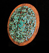 Ceromonial shield, Aztec