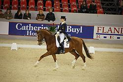 De Deken Julie (BEL) - Fazzino<br /> CDI-W Mechelen 2008<br /> Photo © Dirk Caremans