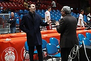 Pianigiani Simone, AX ARMANI EXCHANGE OLIMPIA MILANO vs ZALGIRIS KAUNAS, EuroLeague 2017/2018, Mediolanum Forum, Milano 9 novembre 2017 - FOTO Bertani/Ciamillo-Castoria