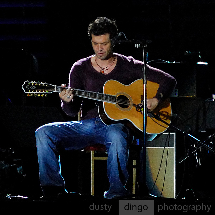 Doyle Bramhall II playing with the Eric Clapton Band, Perth, Western Australia, 2007