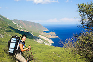 At 2008, Liat (my wife) and me, went to treck Turkey. The Likiyan trail is 500 Km long but we did just a small part of it, near the city of Kas.<br /> <br /> The trail goes throuh Mediterranean green forest next to the sea and on the sandy beaches and it's a lovely walk.