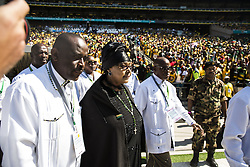 May 6, 2014 - Winnie Mandela..General election, South Africa. ANC rally in Guateng, outside Johannesburg (Credit Image: © Aftonbladet/IBL/ZUMAPRESS.com)