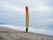Rico Leroy's Surfboard Anglet, near Biarritz, South West France.