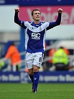 Fotball<br /> England<br /> Foto: Fotosports/Digitalsport<br /> NORWAY ONLY<br /> <br /> Birmingham City v Blackburn Rovers Premiership 21.08.10<br /> <br /> Craig Gardner Birmingham City celebrates 2nd goal