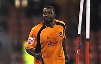 Fotball<br /> England<br /> Foto: Colorsport/Digitalsport<br /> NORWAY ONLY<br /> <br /> Sylvan Ebanks Blake (Wolves) celebrates scoring goal no. 3 Sheffield United v Wolverhampton Wanderers 25/11/2008