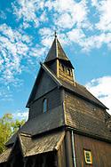 The Urnes Stave Church in Urnes on Sognefjord, Vestlandet, Norway, Europe