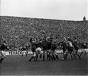 02/03/1974<br /> 03/02/1974<br /> 02 March 1974<br /> Rugby International: Ireland v Scotland at Lansdowne Road, Dublin. Ireland won the game 9-6.
