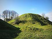 Rathmore Motte Castle, Rathmore, Kildare, c.12th century a.d,