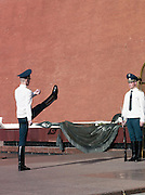 Changing of the Guard, Kremlin, Moscow, Russia