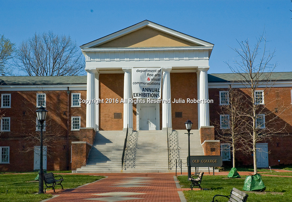 University of Delaware, Old College,department of fine arts and visual communications
