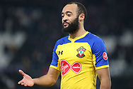 Southampton midfielder Nathan Redmond during the The FA Cup 3rd round match between Derby County and Southampton at the Pride Park, Derby, England on 5 January 2019.