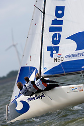 Groeneveld - NED, Matchracing, Day 4, May 27th, Delta Lloyd Regatta in Medemblik, The Netherlands (26/30 May 2011).