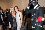 KATE MOSS; ROSEMARY FERGUSON, Jake or Dinos Chapman, White Cube, Mason's Yard and afterwards at The Tab Centre, Austin Street, London E2. 14 July 2011. <br /> <br />  , -DO NOT ARCHIVE-© Copyright Photograph by Dafydd Jones. 248 Clapham Rd. London SW9 0PZ. Tel 0207 820 0771. www.dafjones.com.