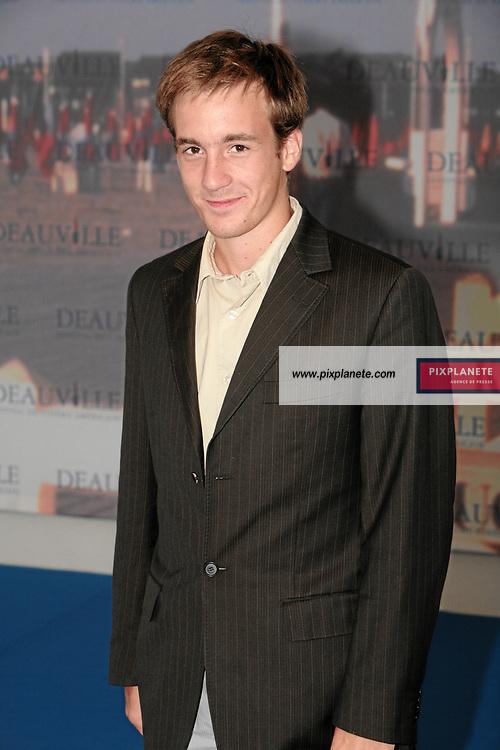 Grégoire Leprince-Ringuet 33 ème festival du film américain de deauville - 2/08/2007 - JSB / PixPlanete