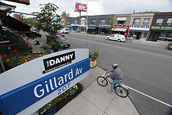 May 29, 2017 - Toronto, ON, Canada - TORONTO, ON- MAY 29  - The Danforth Mosaic business improvement association and the city are naming the neighbourhood near Danforth and Coxwell ''The Danny.'' in Toronto. May 29, 2017.  Steve Russell/Toronto Star (Credit Image: © Steve Russell/The Toronto Star via ZUMA Wire)