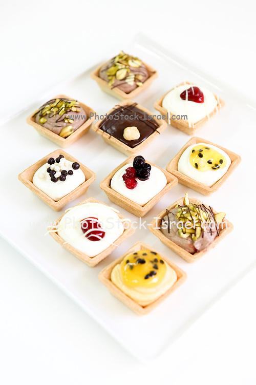 Tartelettes (smal tarts) various flavours